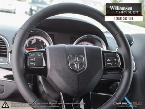 2017 Dodge Grand Caravanleather-wrapped steering wheel
